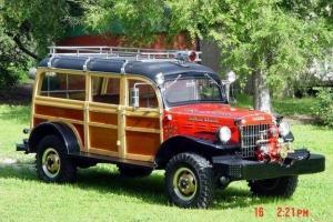 Fire truck woody 4x4