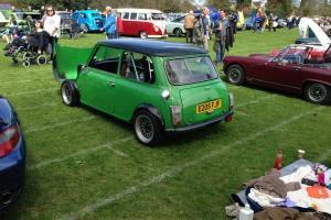 classic mini flip front show car modified swap mini van pick up estate or try me