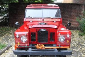 Land Rover 1969 Series 2A with 88 inch wheel base