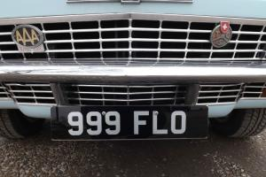 999 FLO Registration for Sale - Exchange for classic car or motorbike