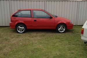 Suzuki Swift Cino 1997 3D Hatchback 5 SP Manual 1 3L Carb in Greystanes, NSW