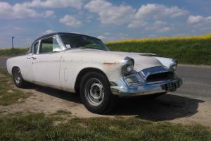 American Studebaker 1955 2 door coupe hotrod rockabilly