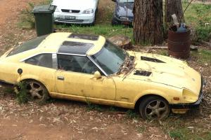 Datsun 280ZX Targa TOP Yellow in Dunlop, ACT