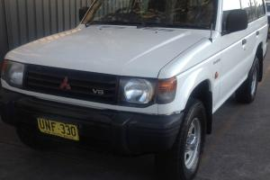 Mitsubishi Pajero GLX LWB 4x4 1997 4D Wagon 5 SP Manual 4x4 3 5L Multi