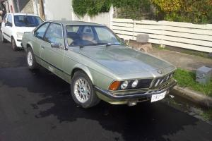 BMW 633 1978 6 Series Classic Coupe