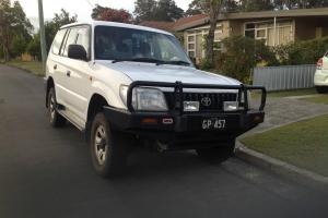 Toyota Landcruiser Prado RV6 4x4 1998 4D Wagon 4 SP Automatic 4x4 3 4L