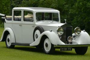 1938 Rolls Royce Hooper 25/30 Landaulette.