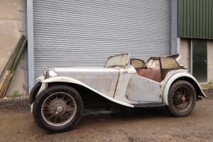 1938 MG TA Project