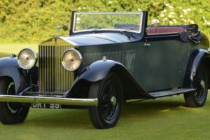 1933 Rolls Royce 20/25 Hooper 3 position Drophead.