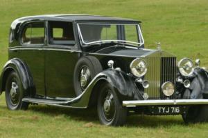 1936 ROLLS ROYCE PHANTOM 3 V12 Sedanca