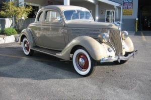 1936 Ford 5 Window Coupe*AZ Car-ALL STEEL-FLAT HEAD V8*