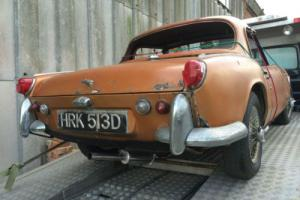 Triumph Spitfire BARN FIND Stored Since 1989 Runs & Drives SOLID Project Hardtop Photo