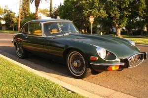Jaguar 1973 E-Type V-12 2+2