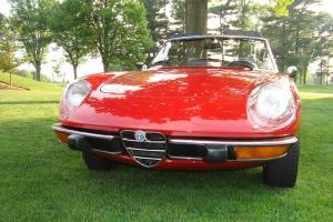 Modified Alfa Romeo Spider Quadrifoglio