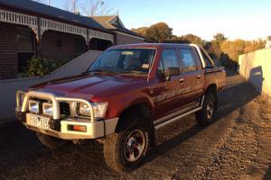 Toyota Hilux 4x4 1997 Dual CAB UTE 5 SP Manual 4x4 2 8L Diesel