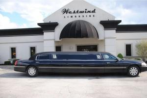 "2005 LTC LIMO 120"" STRETCH BY KRYSTAL 10 SEAT CLOTH TOP"