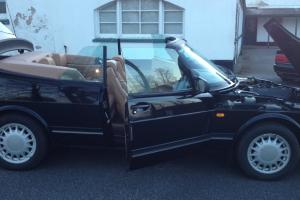 SAAB 900 TURBO CONVERTIBLE IN BLACK STUNNING CONDITION ONLY 50900 MILES
