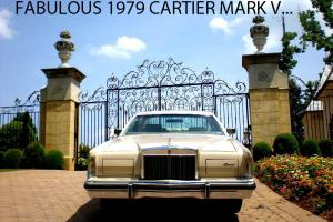 STUNNING 1979 LINCOLN CONTINENTAL MARK V DOCUMENTED 36,198 ORIGINAL MILES