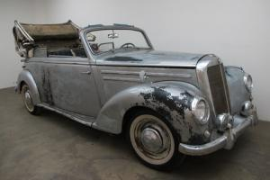 1952 Mercedes-Benz 220B Cabriolet - Been in dry storage since 1980