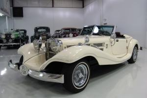 1936 MERCEDES-BENZ 500K REPLICA, AUTOMATIC, AIR CONDITIONING, WIRE WHEELS! for Sale