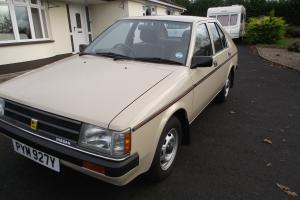 STUNNING 1983 DATSUN/NISSAN CHERRY 1.3GL 5DOOR HATCH