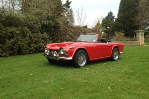 Triumph TR4a.