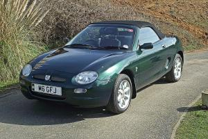 2000X MGF 1.8i Manual.1 owner until 2012.16135 miles only