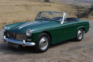 1968 MG Midget, very original, nice condition, drives superbly