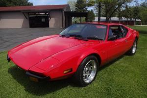 1972 DeTomaso Pantera IMMACULATE **6,491 Miles!!** Photo