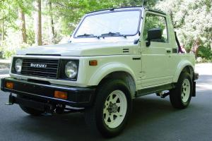 1987 SUZUKI SAMURAI ONLY 64K ORIGINAL MILES 4WD 5 SPEED ALL STOCK AND ORIGINAL!