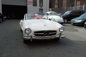 1958 Mercedes Benz 190SL Hard Top Running Engine