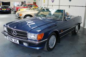 Mercedes Benz 300SL Automatic 107 Series 1986 Nautic Blue