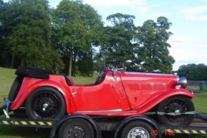 1937 SINGER LE MANS 4 SEATER OPEN TOURER
