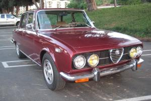 1973 Alfa Romeo Berlina, AWESOME!