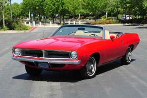 Stock 1970 Plymouth Barracuda Grand Coupe Convertible 318/AT PS PDB New Top