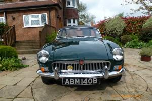 MGB Roadster 1963 Model, Pull handle version, Good condition