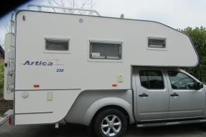 Nissan Navara adventera Pick up and American Camper back 4 berth unused  Photo