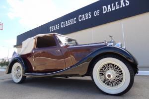 1926 Rolls Royce Twenty Drophead Coupe / Cabriolet 2-Door 4-Seat Convertible RHD Photo