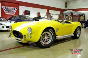 SUPERFORMANCE MKIII COBRA YELLOW 65 TITLE 453 MILES POLISHED ROUSH 342R/475 HP