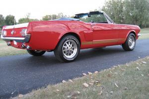 1965 Mustang Convertible Hertz Shelby Cobra Rotisserie Restoration Photo