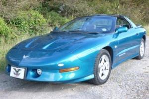 1996 PONTIAC FIREBIRD TRANS AM BLUE