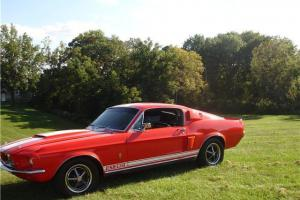 1967 shelby GT350 (Recreation, clone) 1968 Mustang Fastback 302 cobra