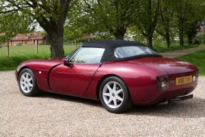 1992 TVR GRIFFITH 400, RIOJA RED, MAGNOLIA LEATHER 41000 MILES FSH  Photo