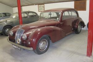 AC (ELECTRIC) 2 - LITRE 1952 MAROON EASY LIGHT RESTORATION PROJECT