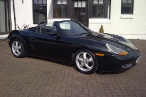 1997 PORSCHE BOXSTER ROADSTER BLACK/BLACK LEATHER