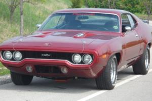 1971 PLYMOUTH GTX 440 BIG MOPAR POWER RESTORED MINT -4 SPEED-PISTOL GRIP