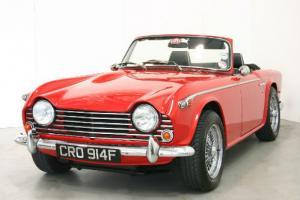 1968 Triumph TR5 PI - UK RHD Car - Exceptional Condition Throughout