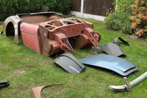 Austin Healey 3000 Mark 1 Four Seater/ Restoration Project Rare Uk Car