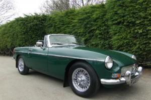 1969 MGB Roadster in British Racing Green