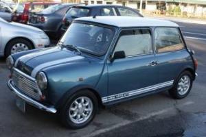 1980 Blue Mini Cooper